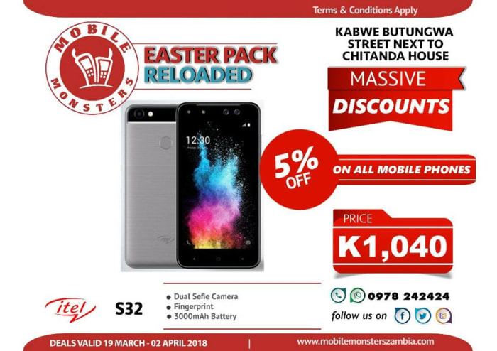 5% off on all mobile phones