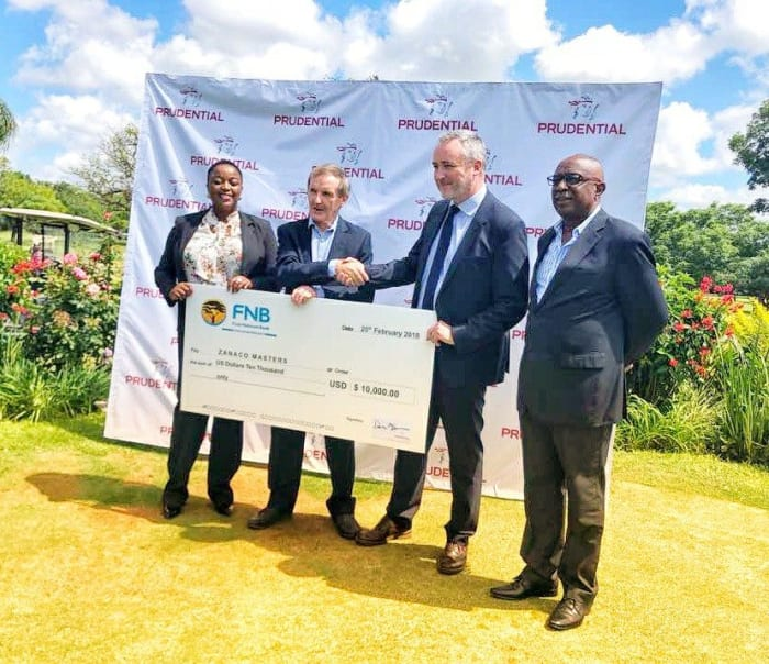 Prudential Zambia sponsors ZANACO Masters Golf Tournament