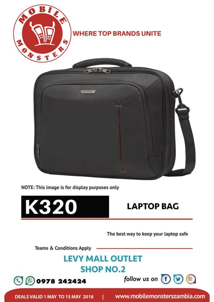 Laptop bags available in stock