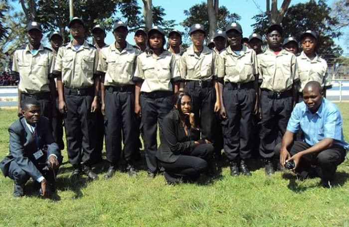Armed experienced security officers for protection
