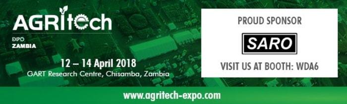Saro Agro Industrial sponsors Agritech Expo 2018