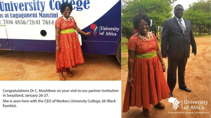 Deputy Vice-Chancellor visits partner institution in Swaziland
