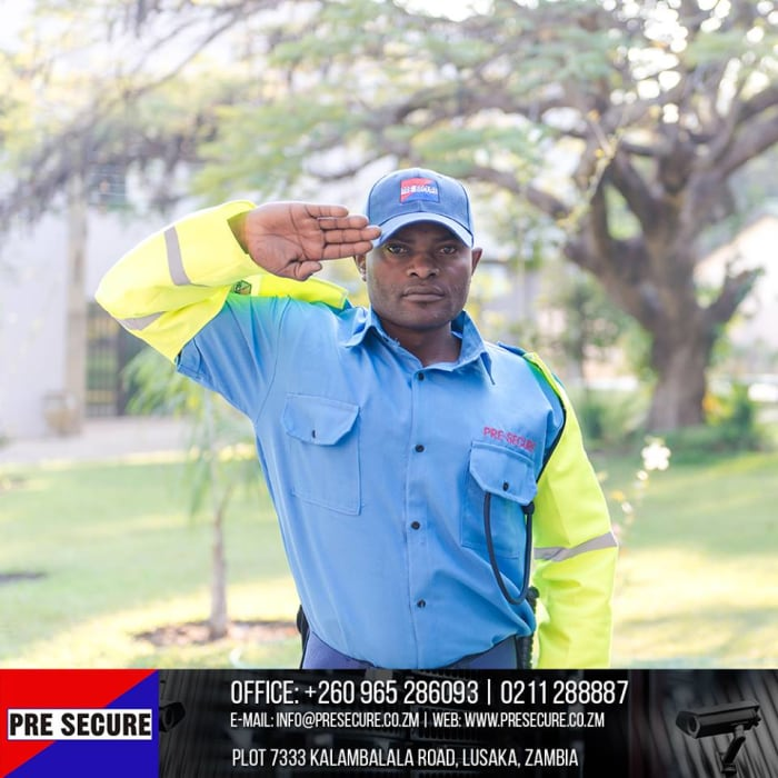 Customised security services packages available