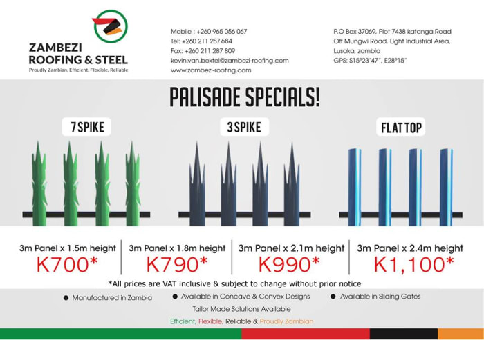 Discounts on palisade fencing