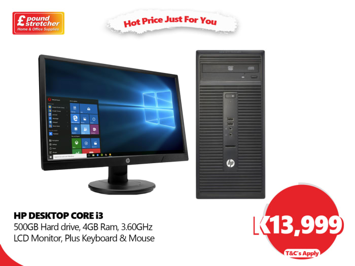 HP Desktop Core i3