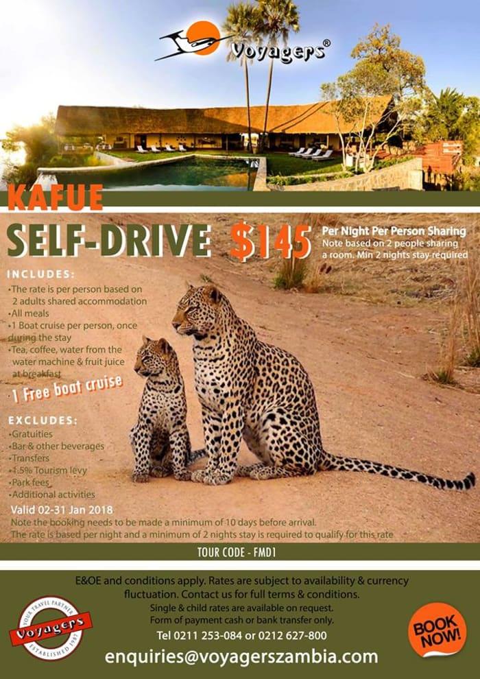 Kafue self-drive package