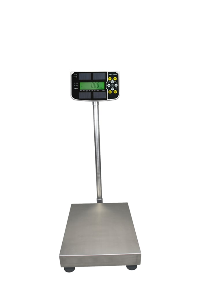 Solar power weighing indicator available