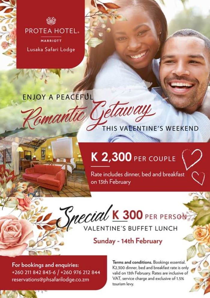 Enjoy a peaceful romantic getaway this Valentine's weekend