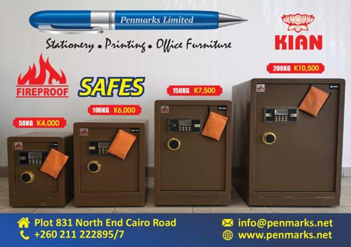 Special offer on fireproof digital safes