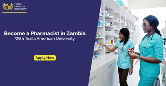 Become a registered Pharmacist in Zambia with a diploma in Pharmacy from Texila American University