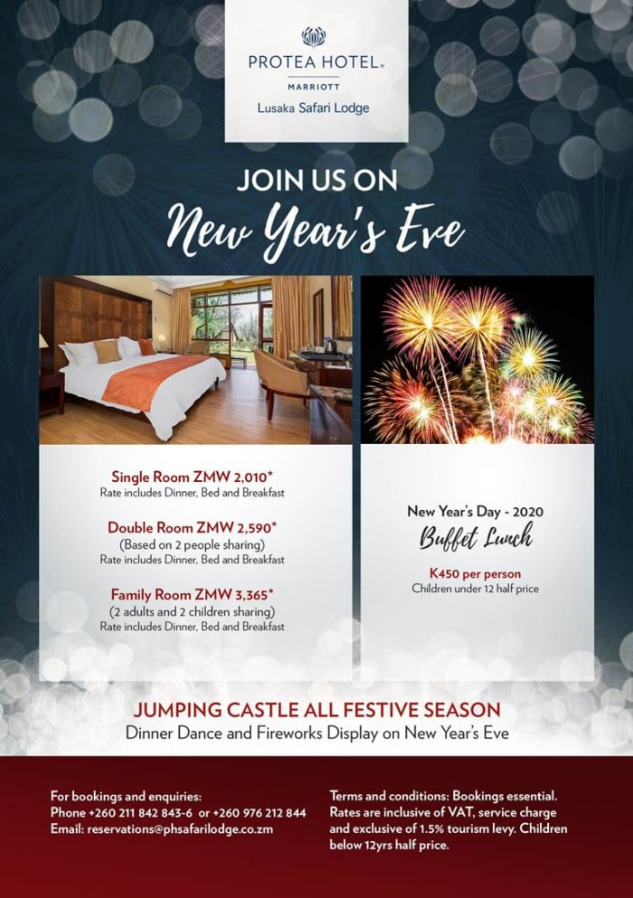 Count down to the new year with Protea Hotels by Marriot