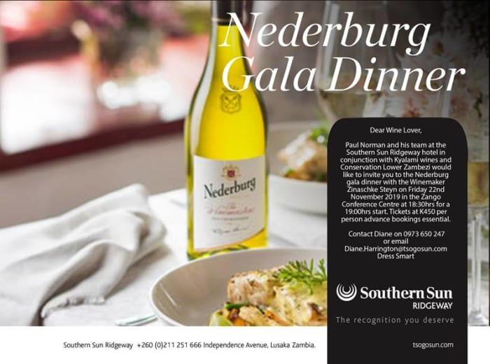 Food and wine pairing invite