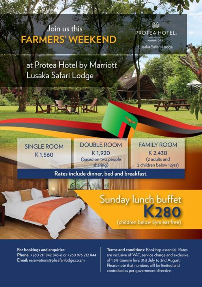 Join Protea Hotel for Farmer 's Weekend Holiday