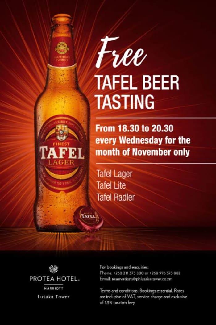 Free Tafel Beer Tasting