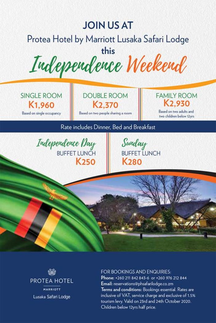 Celebrate Independence weekend with Protea Hotel by Marriott Safari Lodge