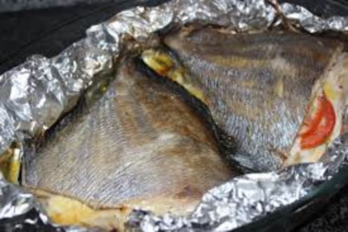 How about some fish in foil this weekend?