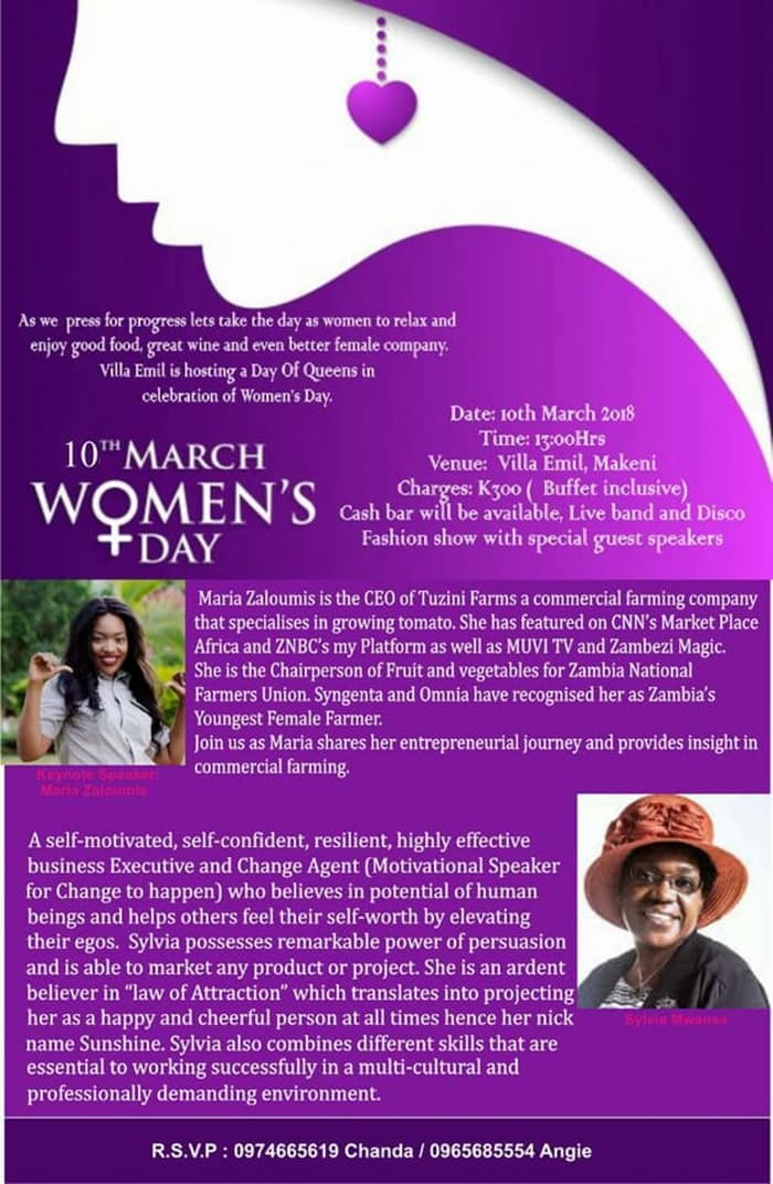 'Day of Queens' Women's Day Celebration