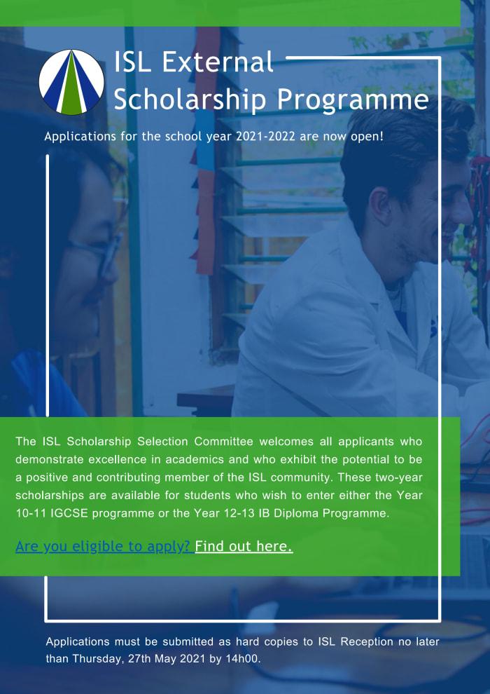 ISL External scholarship programme