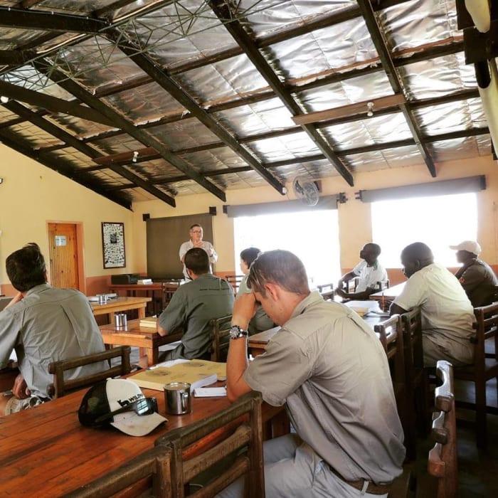 Safari Guide Training starts in Lower Zambezi