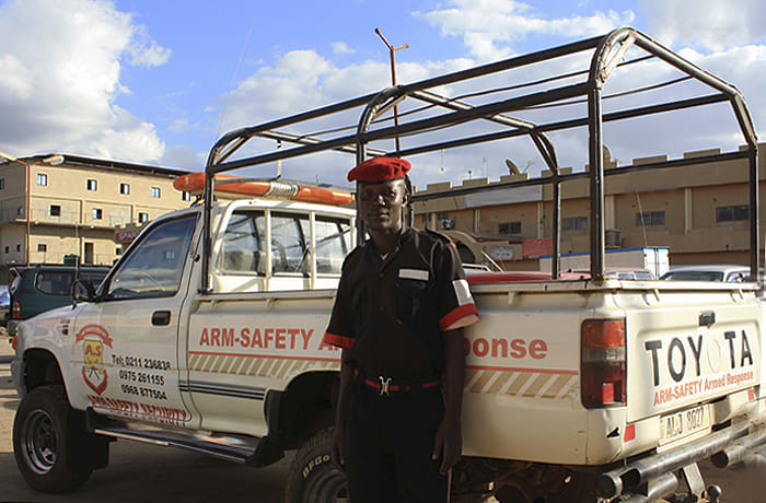 A world-class professional security service