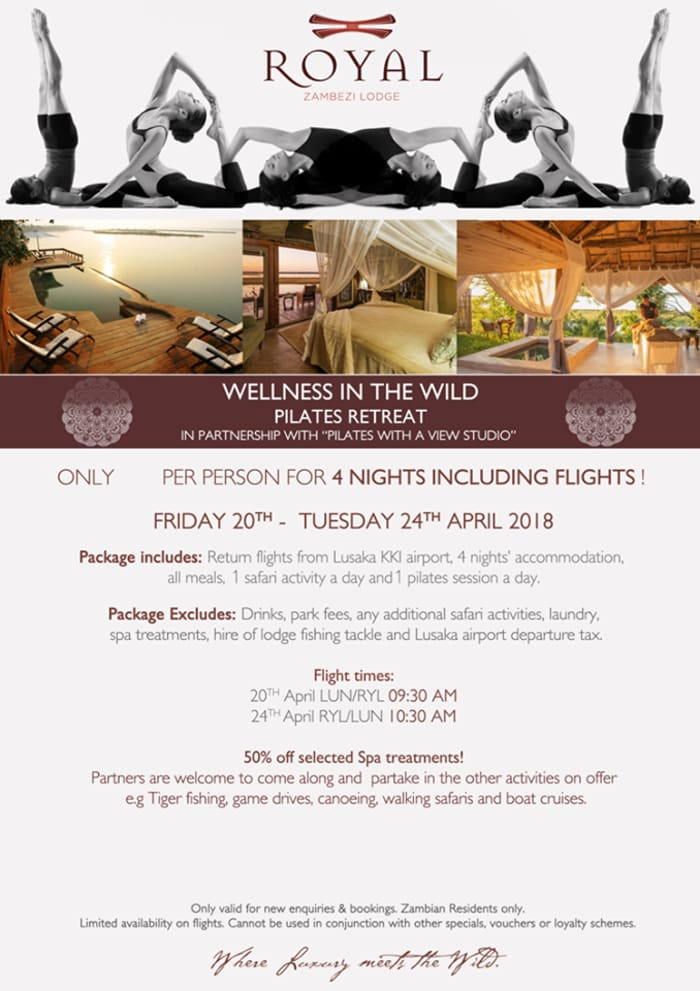 Wellness in the Wild - Pilates retreat