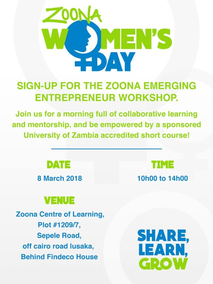 Zoona Emerging Entrepreneur Workshop