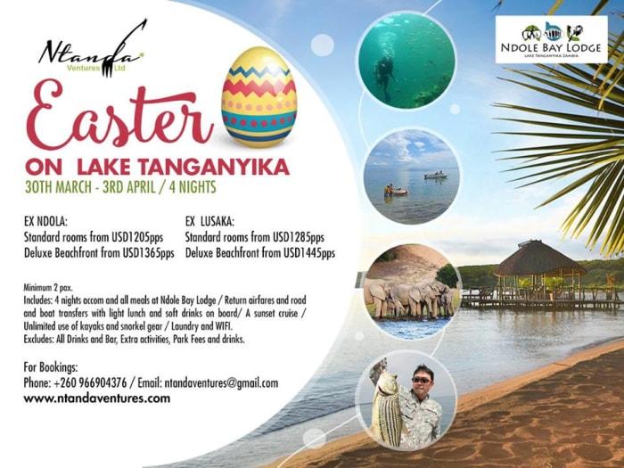 Easter on Lake Tanganyika - Holiday package