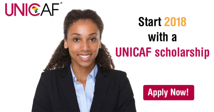 Apply for a UNICAF scholarship