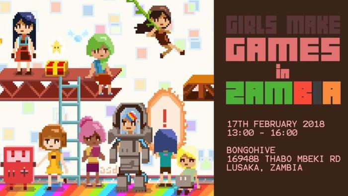 Girls Make Games - Workshop