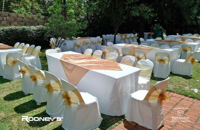 Wedding equipment available for hire
