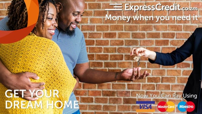 Live in your dream home with an ExpressCredit Zambia loan