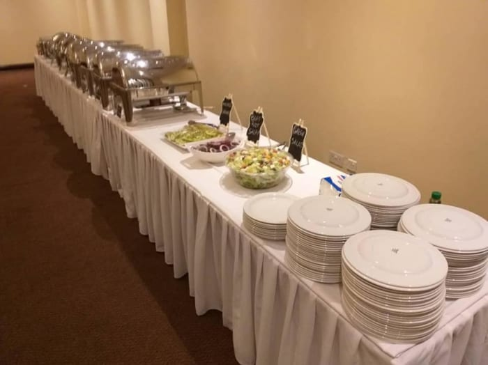 Outside catering services available