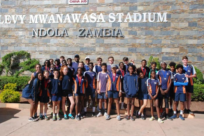 Students win athletics medals at nationals in Ndola