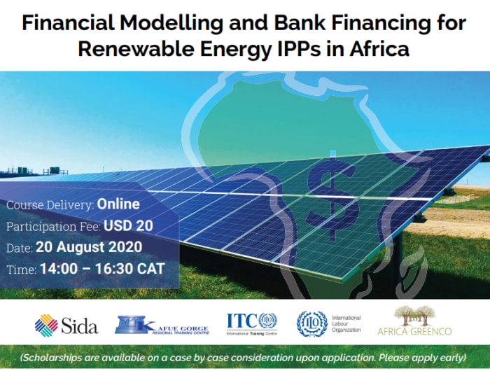 Financial Modelling and Bank Financing for Renewable Energy IPPs in Africa
