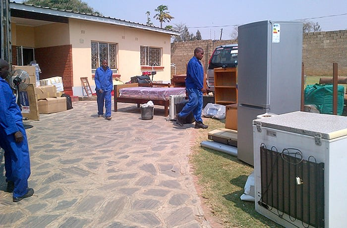 Transported household goods - Livingstone to Choma