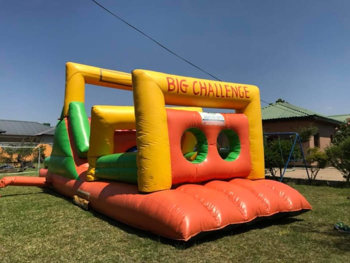 Big Challenge jumping castle