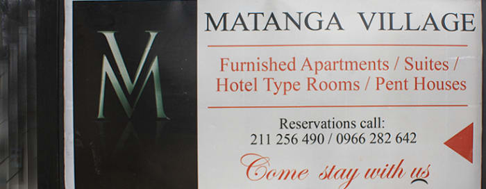 Centrally located in Lusaka's Longacres area
