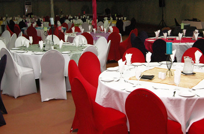 Two conference halls accommodating up to 60 and 300 delegates respectively
