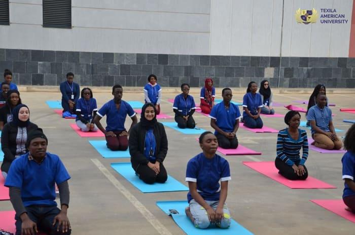 Texila commemorates International Yoga Day