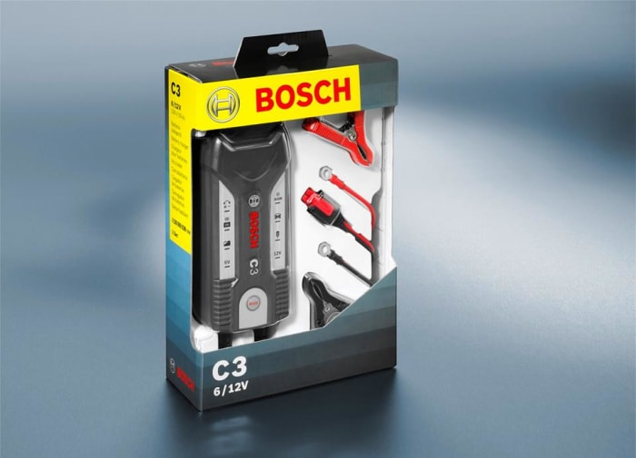 Bosch smart battery charger available in stock