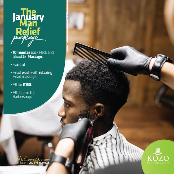 The January Man Relief package offer