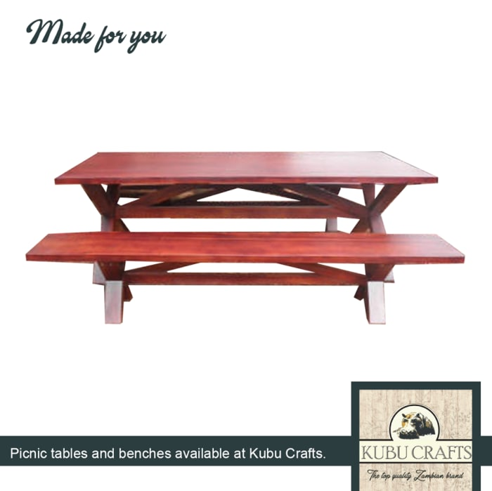 Picnic tables and benches available in stock