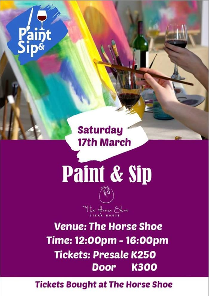 Paint & Sip Art Session