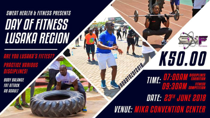 Day of Fitness: Lusaka Region