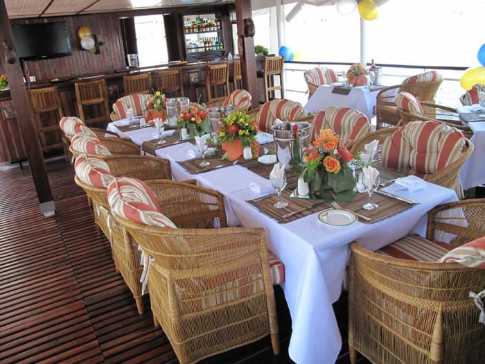 Host your event on the Lady Betty River Cruiser