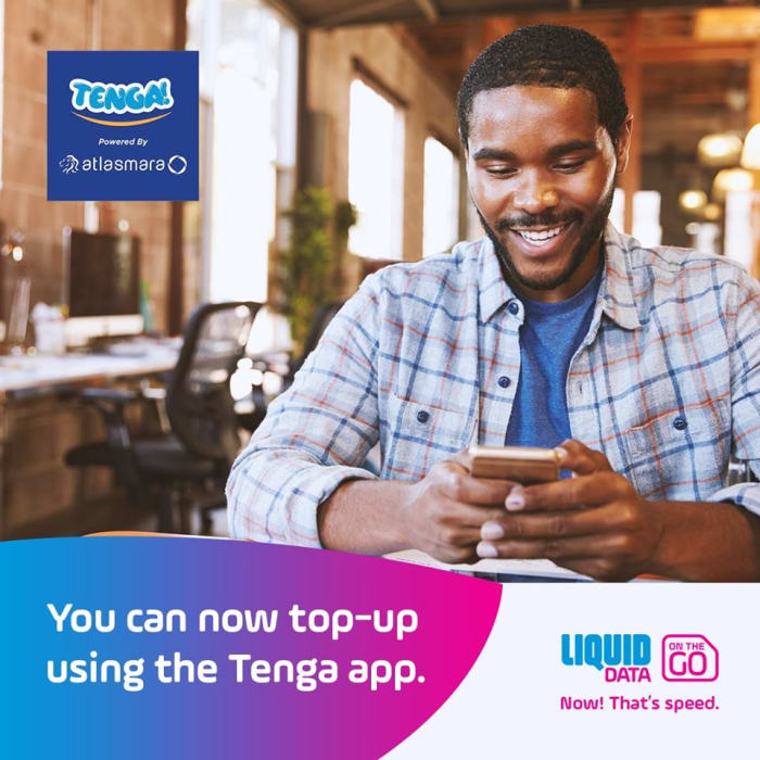 You can now top - up using the Tenga app