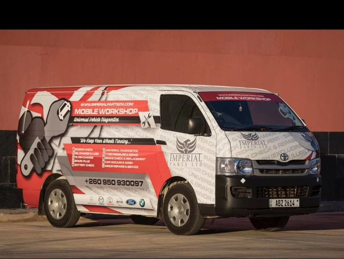 Mobile Service Van available for your vehicle