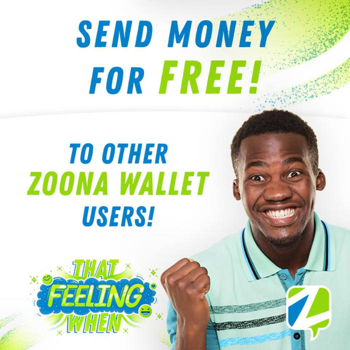 Send money for free to Zoona Wallet users