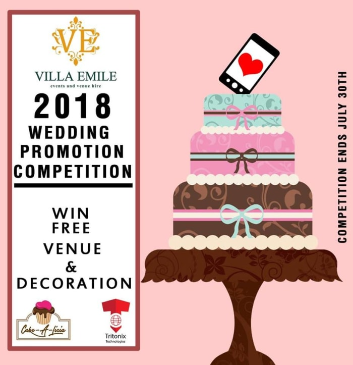 Free Wedding Venue and Decor - Promotion Updates