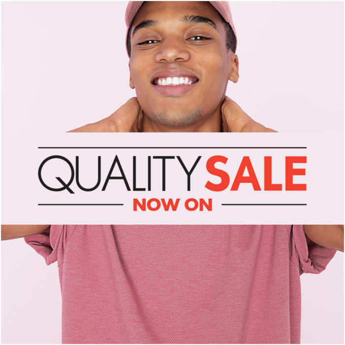 Quality sale now on at Woolworths